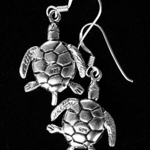 Pendientes tortugas plata de ley 925