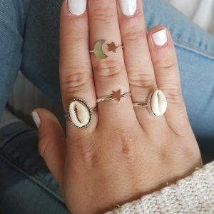 anillos de plata fantasía online baratos