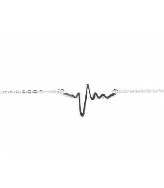 Pulsera plata electro